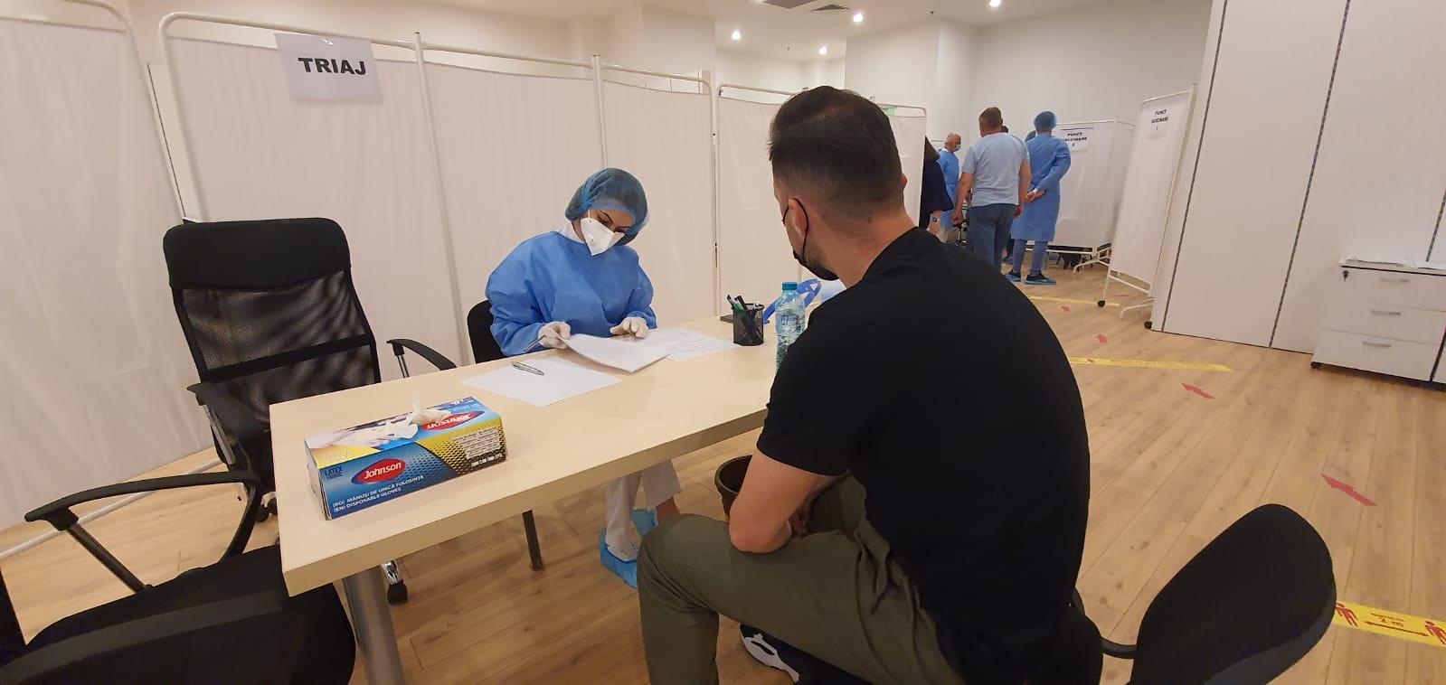 Vaccinare fără programare la centrul amenajat de Primăria Sectorului 3