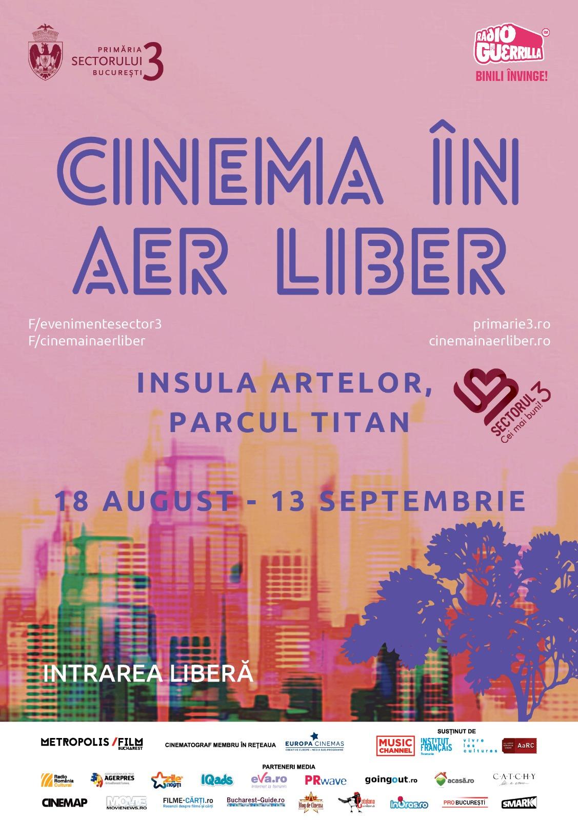 Cinema in aer liber 2020