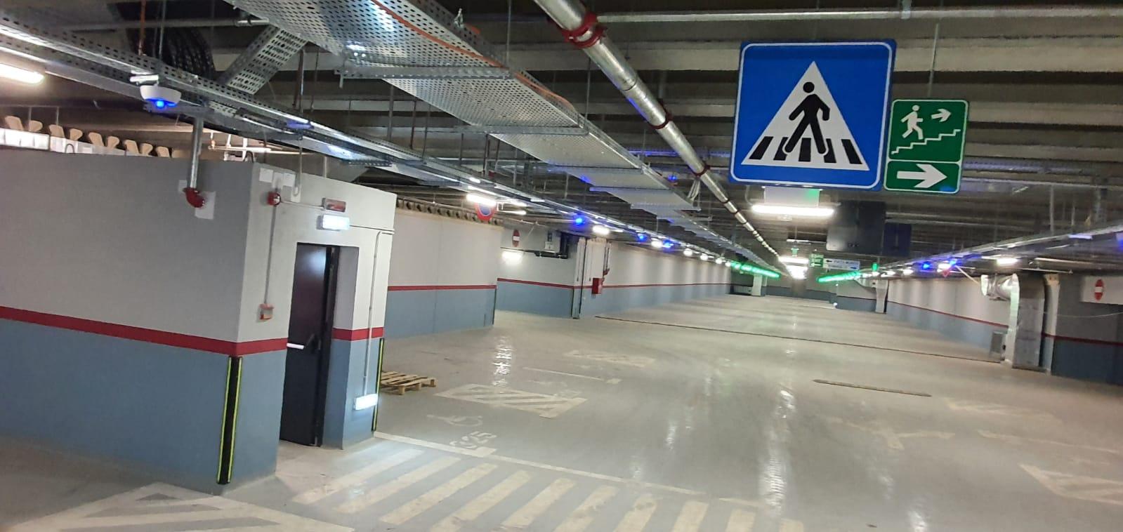 Parcare subterană - Bulevardul Decebal