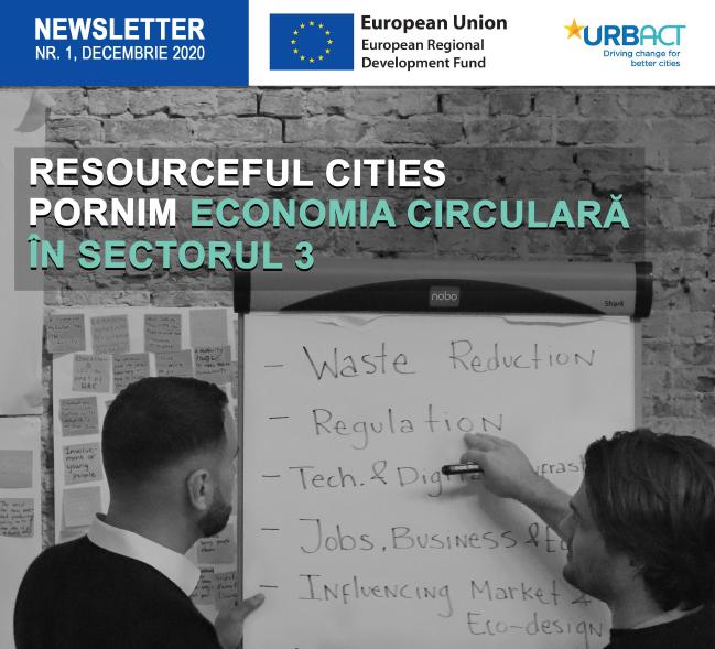 Proiectul Resourceful Cities, implementat de Primăria Sectorului 3