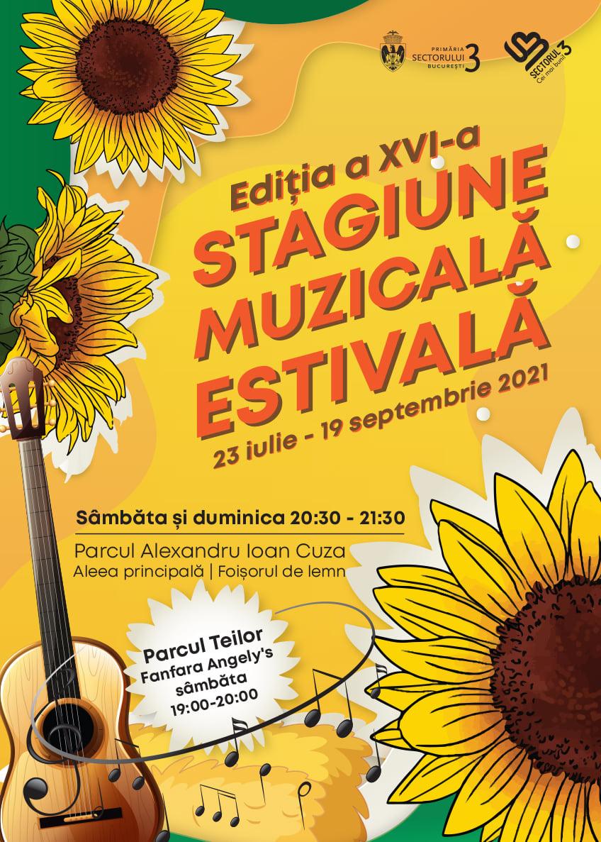 Stagiunea Muzicală Estivală din Sectorul 3 - 23 iulie-19 septembrie