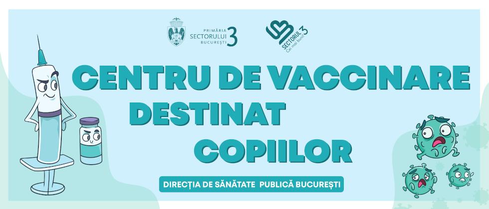 """Centru de vaccinare pentru copii în parcul """"Alexandru Ioan Cuza"""" din Sectorul 3"""