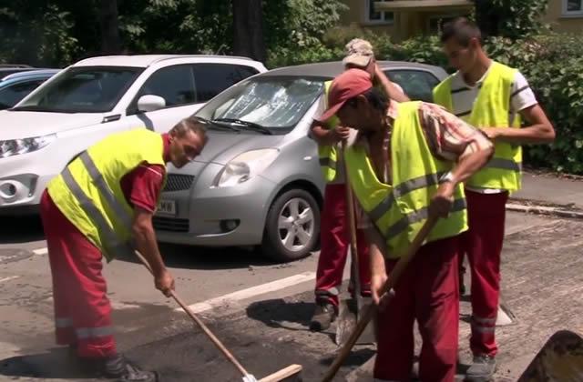 Reparații curente străzi