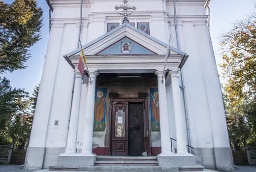 Biserica  Sf. Stelian - Lucaci