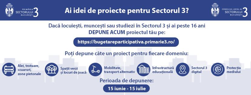 BugetareParticipativa.primarie3.ro